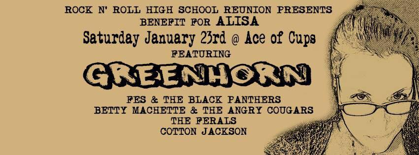 Saturday night: Greenhorn returns for a good cause