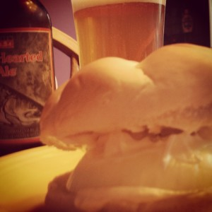Onion Sandwich and Two Hearted Ale