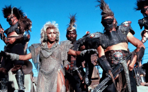 Tina Turner in Mad Max: Beyond Thunderdome. Is this the one where she sings Private Dancer?