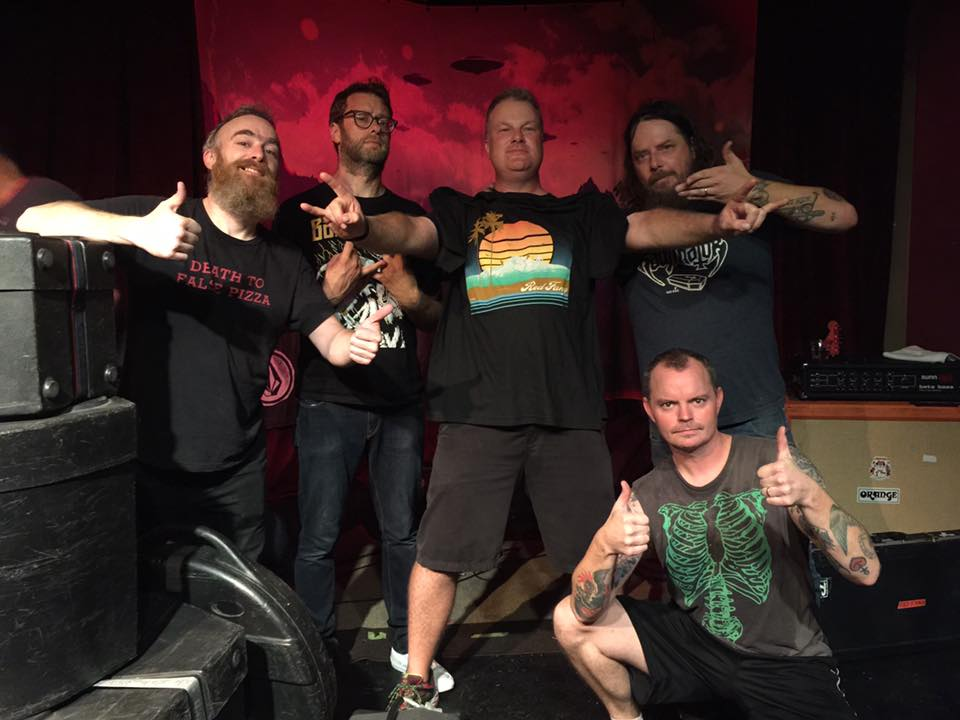 Chris Wood with Red Fang