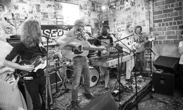 As Shot in Columbus: Saintseneca & Sam Corlett at Used Kids Records