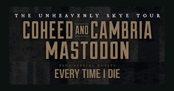 Show Preview: Mastodon and Coheed and Cambria at Express Live
